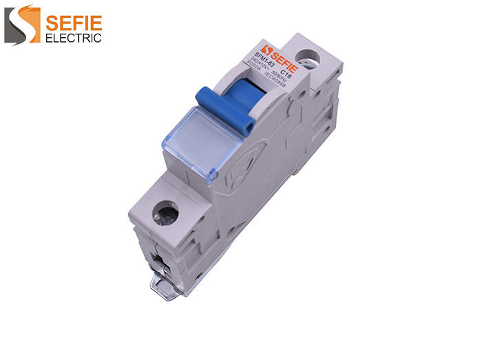 Motor Protection Circuit Breaker Type C Mcb Tripping Curve 3 Energy Limiting Class